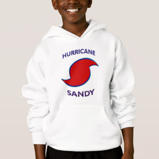 Hurricane Sandy Symbol Hoodie