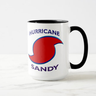 Hurricane Sandy Symbol Mug