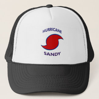 Hurricane Sandy Symbol Trucker Hat