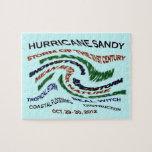 Hurricane Sandy Words Jigsaw Puzzles