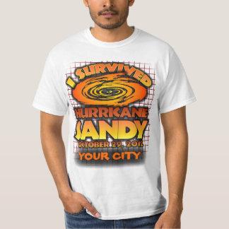 Hurricane Sandy, Your Custom City Tshirt