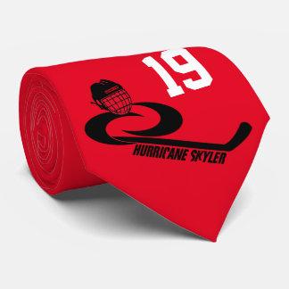 Hurricane SKYLER Customizable Team Hockey Tie