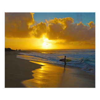 Hurricane Surf Sandy Beach Hawaii Photo Print