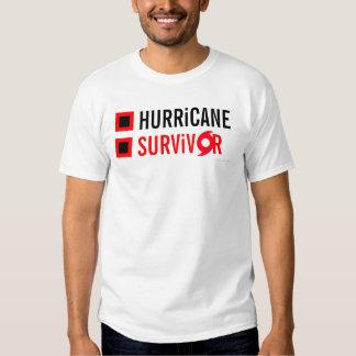 Hurricane Survivor Flag T-Shirt 9