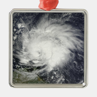 Hurricane Tomas over the Lesser Antilles Metal Ornament