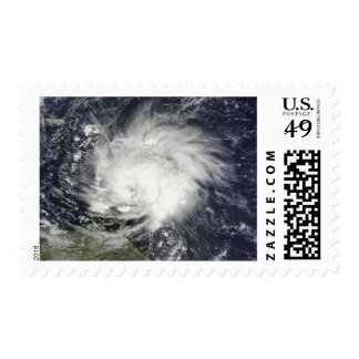 Hurricane Tomas over the Lesser Antilles Postage