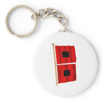 Hurricane Warning Keychain