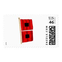 Hurricane Warning Postage Stamps