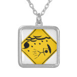 Hurricane Weather Warning Merchandise and Clothing Necklace