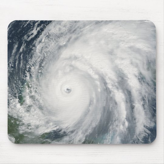 Hurricane Wilma over Mexico Mouse Pad