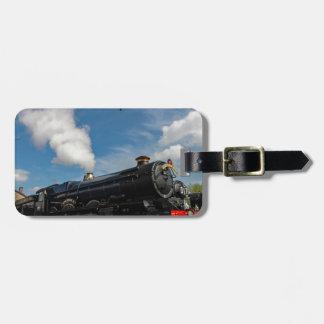 Hurricanes and steam train bag tag