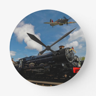 Hurricanes and steam train round clock