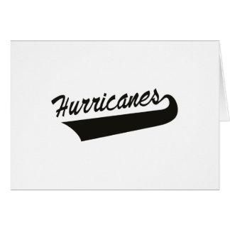 Hurricanes Card