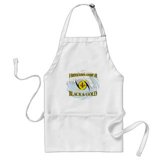 Hurricanes in Black & Gold Adult Apron