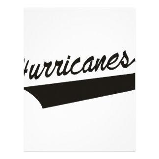 Hurricanes Letterhead
