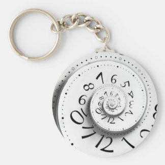 Hurry up and Fast Forward Time Keychain