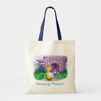 Hurry up Marvin! Canvas Bag