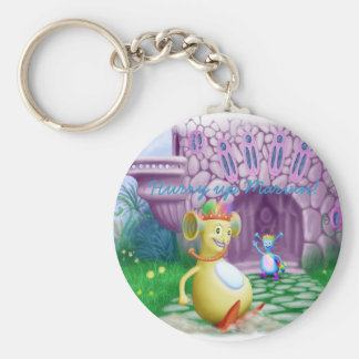 Hurry up Marvin! Basic Round Button Keychain