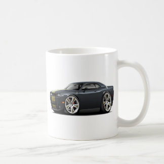 Hurst Challenger Black-Gold Car Coffee Mug