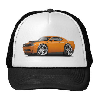 Hurst Challenger Orange Car Trucker Hat
