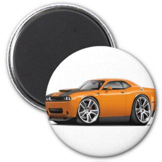 Hurst Challenger Orange Car Magnet