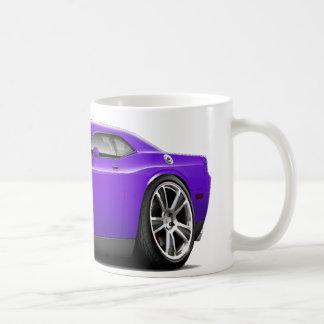 Hurst Challenger Purple Car Coffee Mug