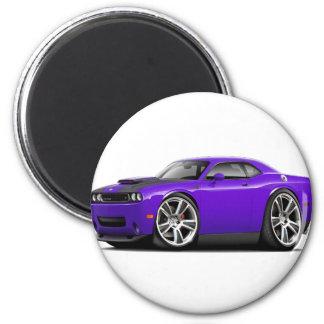 Hurst Challenger Purple Car Magnet