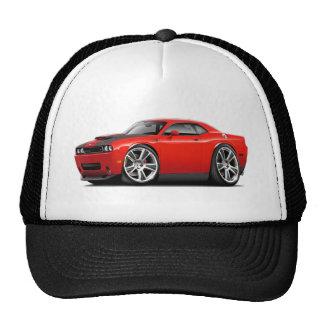 Hurst Challenger Red Car Trucker Hat