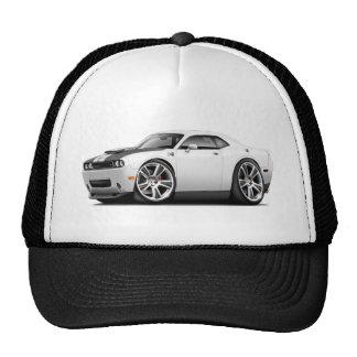 Hurst Challenger White Car Trucker Hat