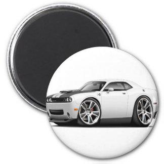 Hurst Challenger White Car Magnet