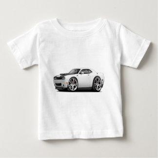 Hurst Challenger White Car Tshirts