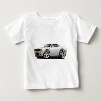 Hurst Challenger White-Gold Car T-shirts