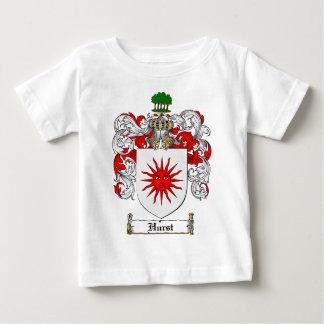 HURST FAMILY CREST -  HURST COAT OF ARMS BABY T-Shirt