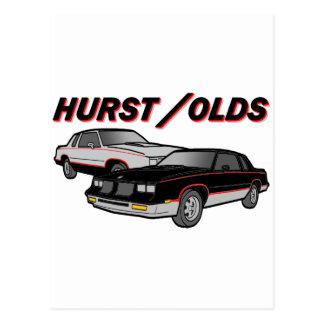 Hurst/Olds Postcard