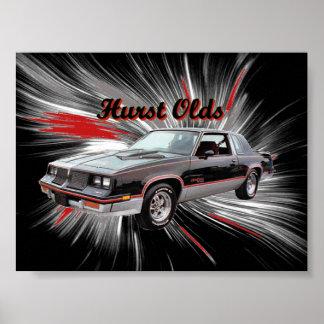 Hurst Olds Poster