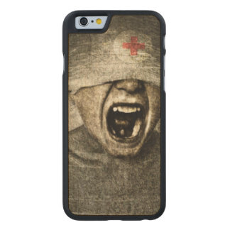 Hurt 2013 carved® maple iPhone 6 case