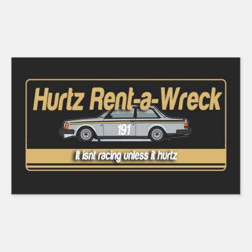 Hurtz Rent_a_Wreck Sticker