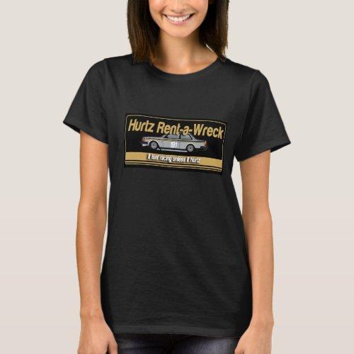 Hurtz Rent_a_Wreck Womens T_Shirt