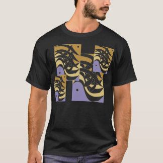 Hurufiyyat Style Arabic Calligraphy I T-Shirt