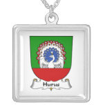 Hurus Family Crest Necklaces