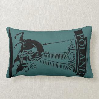 Húsar con alas polaco del vintage almohadas