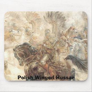 Húsar con alas polaco tapete de raton