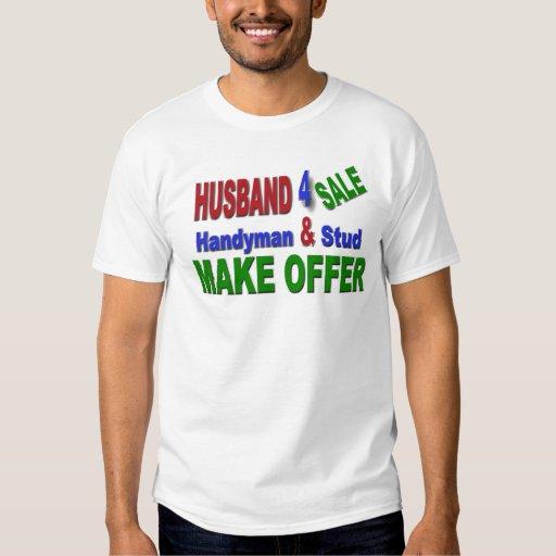 Husband 4 sale t-shirt