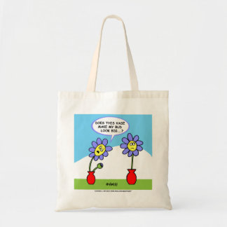 Husband and Wife Humor Tote Bag For a Gardener