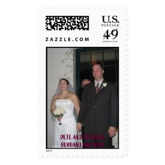 HUSBAND AND WIFE.jpg, HUSBAND AND WIFE, PETE AN... Postage Stamps