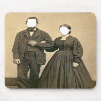 Husband and wife Mousepad