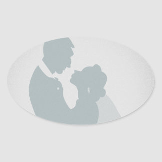 Husband and Wife Stickers