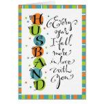 Husband Anniversary or Birthday Cards
