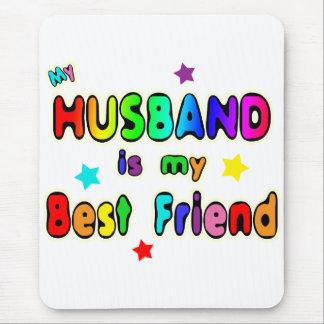 Husband Best Friend Mouse Pad