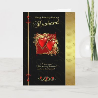 Husband Birthday Card - Happy Birthday Husband from Zaz